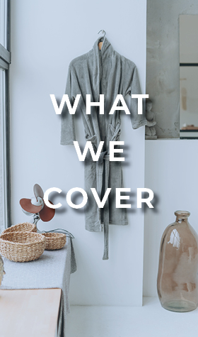 The What We Cover button for Innkeepers insurance.